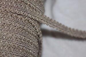 $1 yard Tan GIMP Braid braided sewing upholstery costume craft trim 1/2