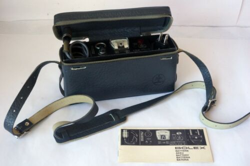Bolex Paillard BX-55 Battery Charger w/ Manual Barely Used Good  Working Order
