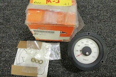 Simpson Hertz Gauge Panel Meter Military Parts 3-711304 17994 2583 380-420