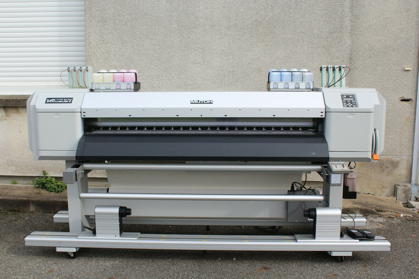 Mutoh valuejet vj-1638w imprimante grand format - traceur - printer - vj1638
