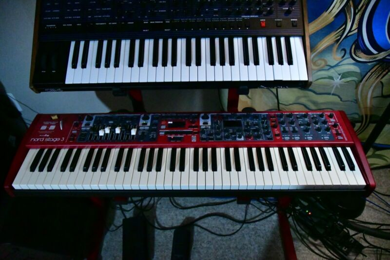 Nord Stage 3 Compact 73-Key Digital Keyboard **Mint**