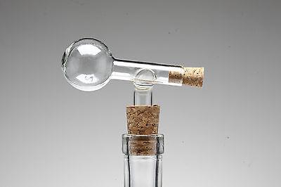 4 Glaskugel Portionierer 2 cl Dosierer Obstler Schnaps GASTRO Ausgießer Gin 22