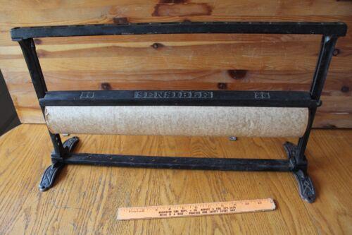 Antique Cast Iron Butcher Paper Dispenser Sensible 20 General Store Mercantile