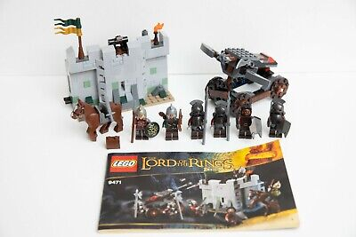 Lego Lord Of The Rings LOTR Uruk-Hai Army 9471 - 99% Complete