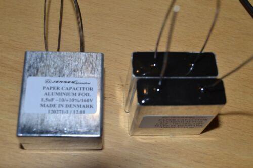 Jensen capacitor 4 x 1,5 uf 160 VDC