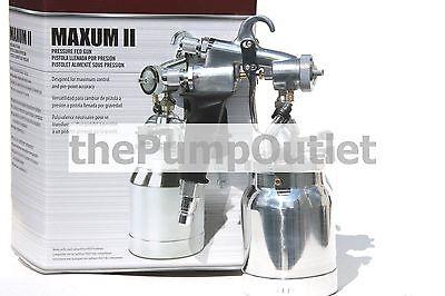 Titan Capspray Maxum Ii Turbine Pressure Fed Gun For Hvlp 0524041 Free Shipping
