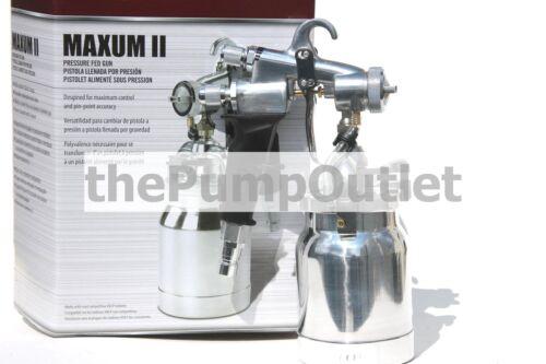 Titan CapSpray Maxum II Turbine Pressure Fed Gun for HVLP 0524041 *Free Shipping