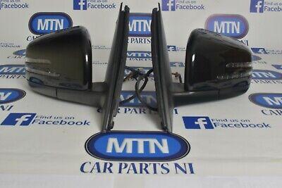 Mercedes ML Gle W166 Elektrische kraft Faltbar Außenspiegel Links+Rechts 2012