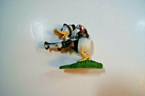 DISNEY Danbury Mint PERPETUAL CALENDAR November Donald Duck Thanks Giving