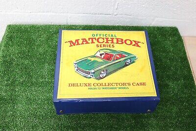 Lot of 62 Vintage Matchbox Lesney Car Lot With 1968 Collector Case READ DESCRIPT