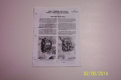 John Deere A-b-g-gm Powr-trol Service Manual 155s
