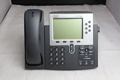 Lot Of 10 Cisco Cp-7961g-ge 6-line Gigabit Ip Business Office Phones