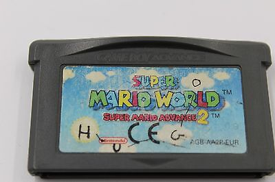 NINTENDO GBA GAME BOY ADVANCE MARIO WORLD MARIO ADVANCE 2  SOLO CARTUCHO PAL EUR comprar usado  Enviando para Brazil