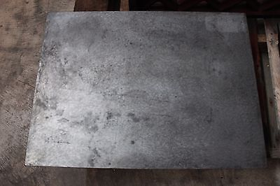 Machinists Machine Surface Plate Hand Scraped Cast Iron 24 X 18 X 5 34 Mill