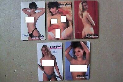 TK USA Telefonkarte/Phonecard Set of 5 neu selten 1000 ex  erotik girl