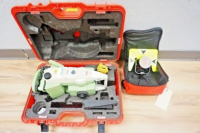 Leica Tca1201 M .1 Sec Total Station For Monitoring 1201