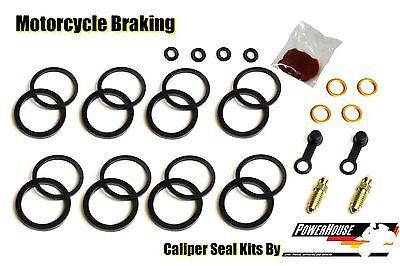 Yamaha FZR 1000 Genesis 1987 1988 87 88 front brake caliper seal repair kit set