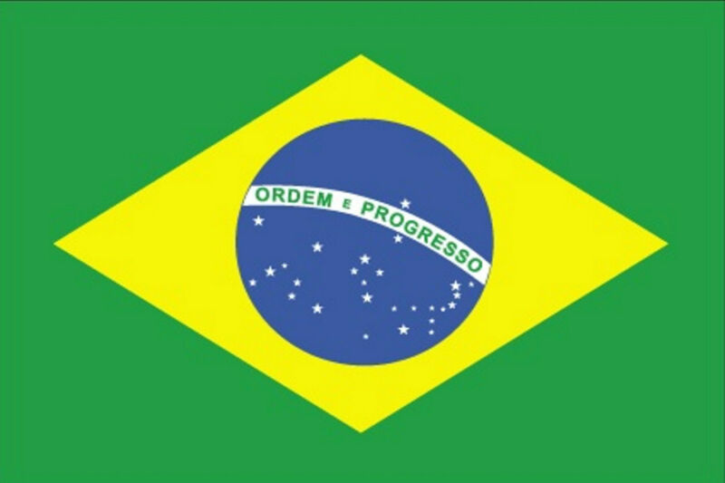 ***BRAZIL BRAZILIAN VINYL FLAG DECAL / STICKER***