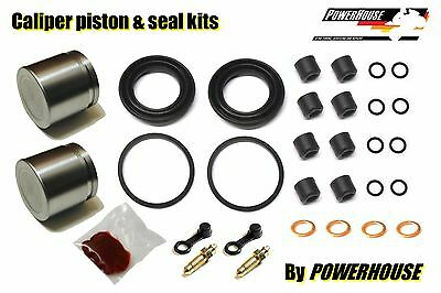 1973-75 Kawasaki Front Brake Caliper Piston Repair Rebuild seal dust z1 z1b