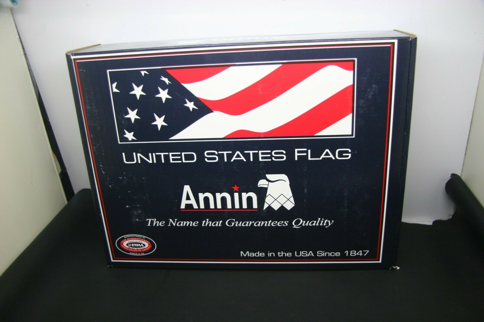 Annin UNITED STATE FLAG 5x8' ALL Weather NYL-GLO NYLON USA