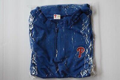 Philadelphia Phillies Men's Blue Golf Vest 1/4 Zip XL Brand -