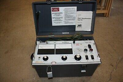 Biddle Megger 15kv Megohmeter Cat210415 Insulation Voltage Tester Meter
