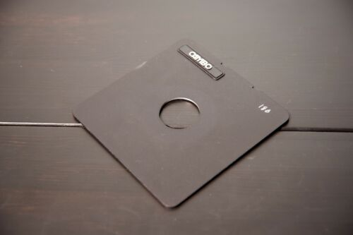 4x5 Lens Board - copal 1 for Cambo cameras - 2 AVAILABLE