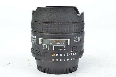Nikon Fisheye-NIKKOR 16mm f/2.8 CRC D SIC AF Lens #J01712