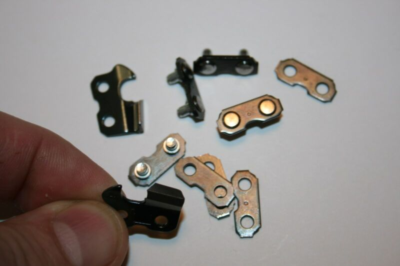 NEW OREGON 3/8 sawchain Preset tie straps Links for chain Repair