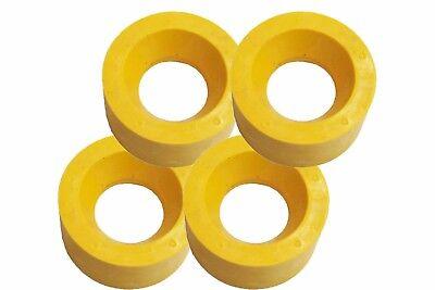 Power Feeder Rollers - Polyurethane 120x60mm - Set Of 4 Ru120 For 1hp Motors