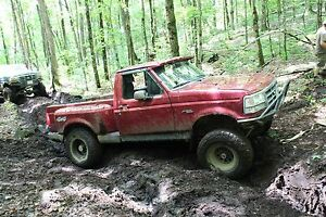 1992 Ford F-150 off-road