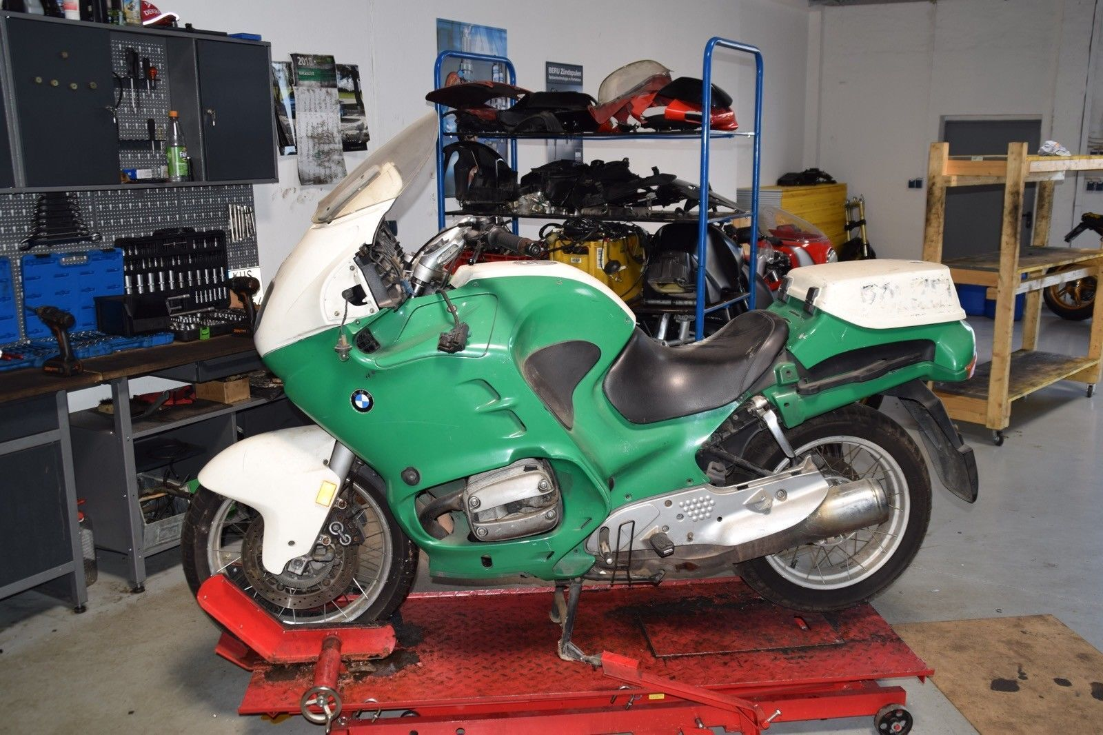 Bmw r 850 rt 259 abs bj.1994 - accouplement complet