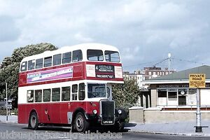 Portsmouth Corporation 89 LRV981 Leyland PD2 Bus Photo Ref P578