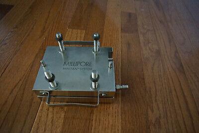 Millipore Minitan Tangential Flow Cassette Filter Holder Filtration Ultra