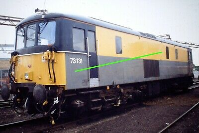 Original Colour Railway 35mm slide c/w rights class 73 131 (ref 174)