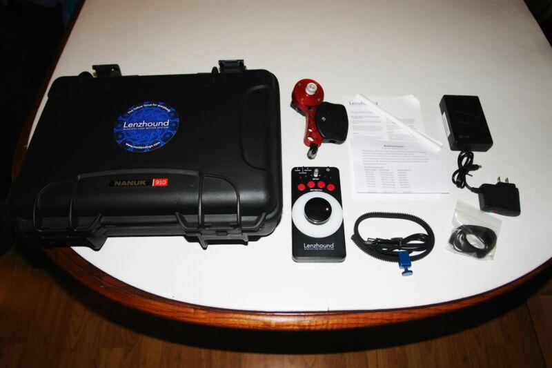 Lenzhound Wireless Follow Focus w/ Battery and Nanuk 910 Case