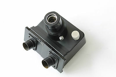 Leica Leitz Microscope Trinocular Eyepiece Tube