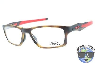 Oakley RX Eyeglasses OX8090-0855 Crosslink MNP Brown Tortoise Frame [55-17-137]