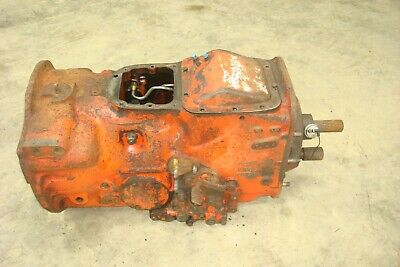 Ford Tractor Select-o-speed Sos Transmission