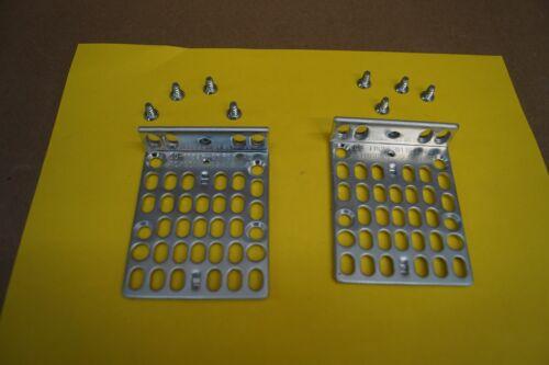 Lot of 2 Genuine Cisco Switch Rack Mount Brackets w/ Screws 700-11523-01