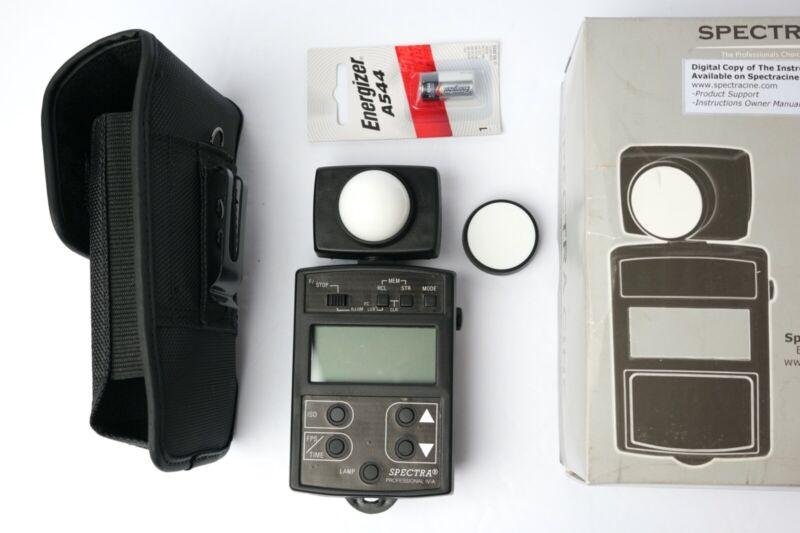 Spectra Cinematography IV-A Digital Light Meter - Black - Open Box