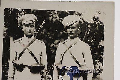 altes Foto 2 Offiziere Bulgarien 1.WK