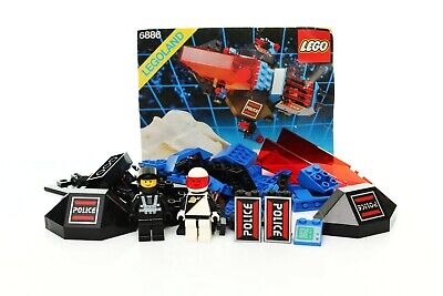 Lego Space Police I Set 6886 Galactic Peace Keeper 100% complete + instr. 1989