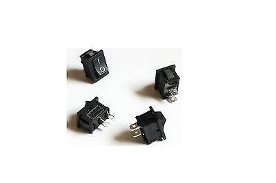 Wippschalter Mini Wippenschalter 2-polig Wippe 0/1 AC 250V/3A EIN / AUS Schalter