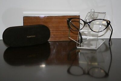 TOM FORD EYEGLASSES WITH CASE AND CLEANING CLOTH MADE IN ITALY BRAND NEW