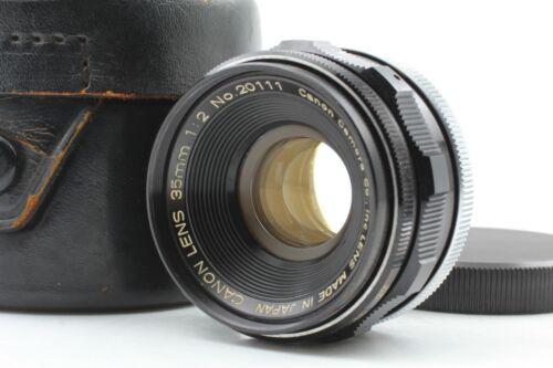 【NEAR MINT w/Case】 Canon 35mm f2 Wide Angle Lens L39 LTM Leica Screw Mount JAPAN