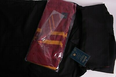NWT Pottery Barn Kids Harry Pottery Gryffindor Halloween costume 7-8 robe tie