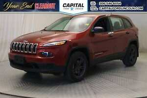 2017 Jeep Cherokee Sport 4WD **New Arrival**