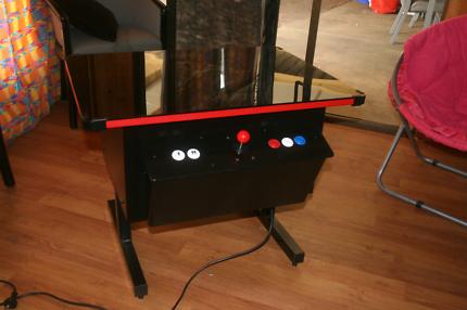 Arcade game cocktail machine
