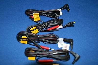 4 -Replacement TENS/EMS Unit Lead Wires with Pin Connectors, 45